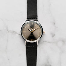 Load image into Gallery viewer, New Christyan Arden THEO CA3205 - Around The World Edition - Grey Sunburst Dial - Black Full Grain Strap (Wanita)