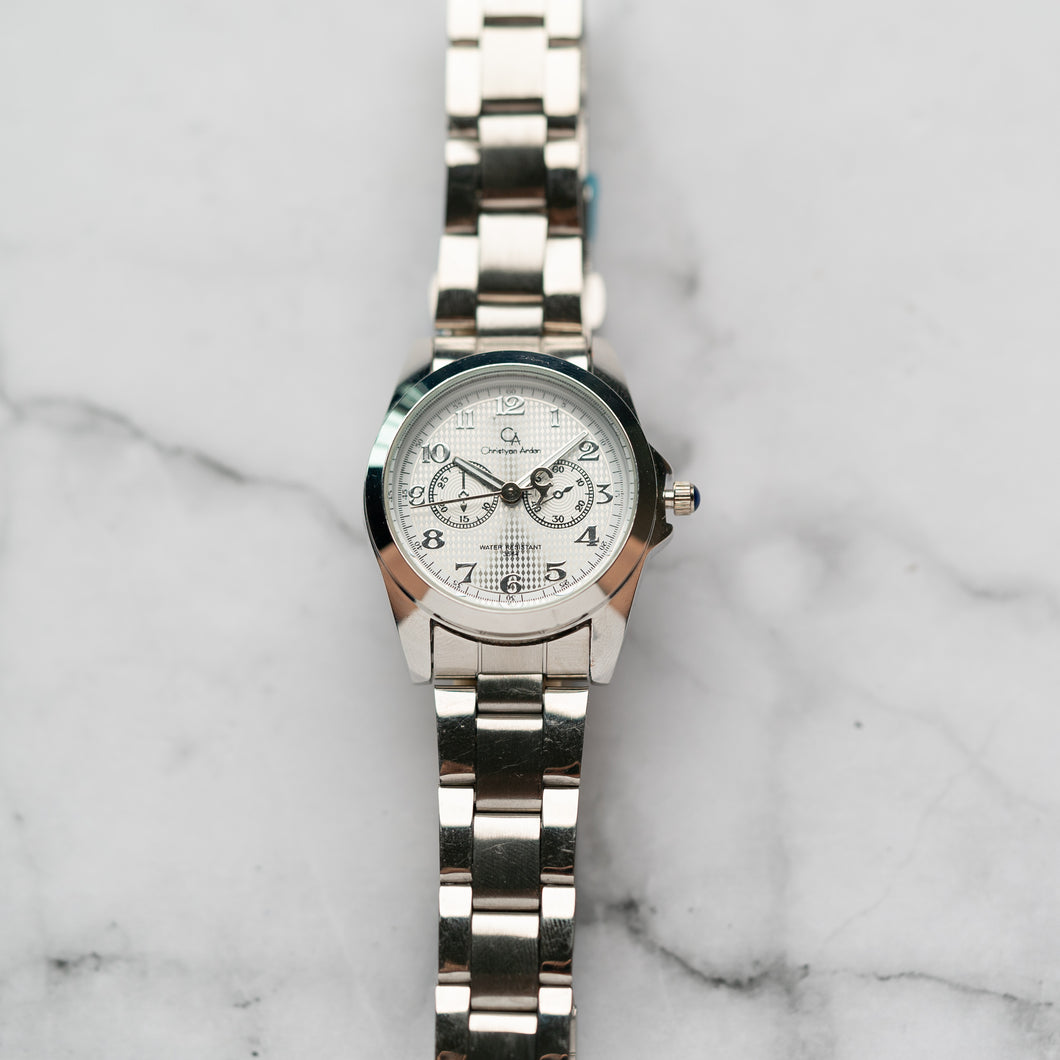 Christyan Arden Luxury Collection CA3564 White Dial