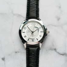 Muat gambar ke penampil Galeri, Christyan Arden Full Grain Leather CA8021 Black - White Dial (Pria)