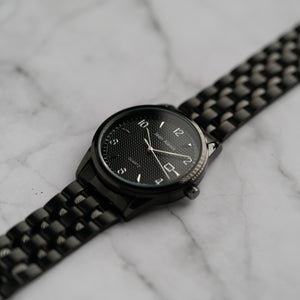 Jean Alexis JARL GHT JA114 - Prestige Edition - Black Stainless Steel Strap - Black Case - Black Dial (40mm)