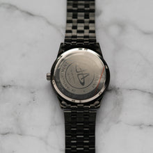 Load image into Gallery viewer, Jean Alexis JARL GHT JA114 - Prestige Edition - Black Stainless Steel Strap - Black Case - Black Dial (40mm)
