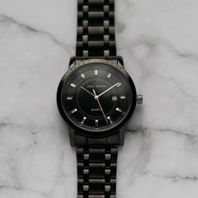Load image into Gallery viewer, Jean Alexis HAMMOND GHT JA107 - Prestige Edition - Black Stainless Steel Strap - Black Case - Black Dial (40mm)