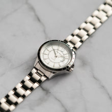 Load image into Gallery viewer, Jean Alexis FERN LT JA105 - Prestige Edition - Silver Stainless Steel Strap - Silver Case - White Dial (33mm)