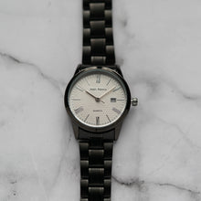 Load image into Gallery viewer, Jean Alexis FELMAN LHT JA110 - Prestige Edition - Prestige Edition - Black Stainless Steel Strap - Black Case - White Dial (30mm)