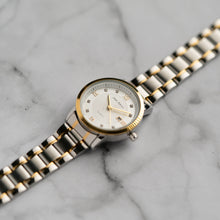 Load image into Gallery viewer, Jean Alexis GARTH LKT JA102 - Prestige Edition - Gold & Silver Stainless Steel Strap - Gold Case - White Dial (32mm)