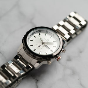 Christyan Arden DAYDATE EDITION CA8694 GTH - White Dial (46mm)