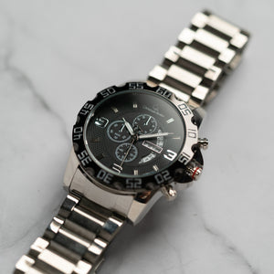 Christyan Arden DAYDATE EDITION CA8695 GTH - Black Dial (46mm)