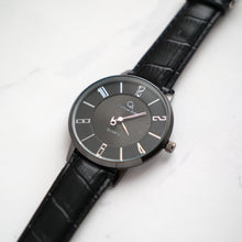 Load image into Gallery viewer, Christyan Arden Full Grain Leather CA0027 Black - Black Dial (Wanita)