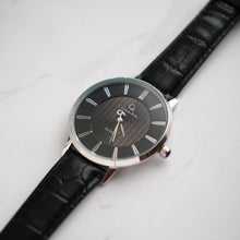 Load image into Gallery viewer, Christyan Arden Full Grain Leather CA0010 Black - Black Dial (Wanita)