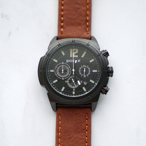 POSITIF Active Chrono Vegan Leather GFC PS60046 CK (Pria)