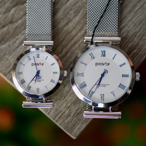 Positif Watch PS-7008 White Dial (Pria)