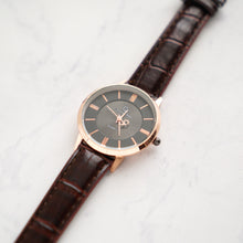 Load image into Gallery viewer, Christyan Arden Full Grain Leather CA0015 Brown - Black Dial (Wanita)