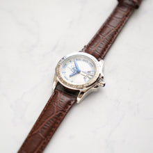 Muat gambar ke penampil Galeri, Christyan Arden Full Grain Leather CA2219 Brown - White Dial (wanita)