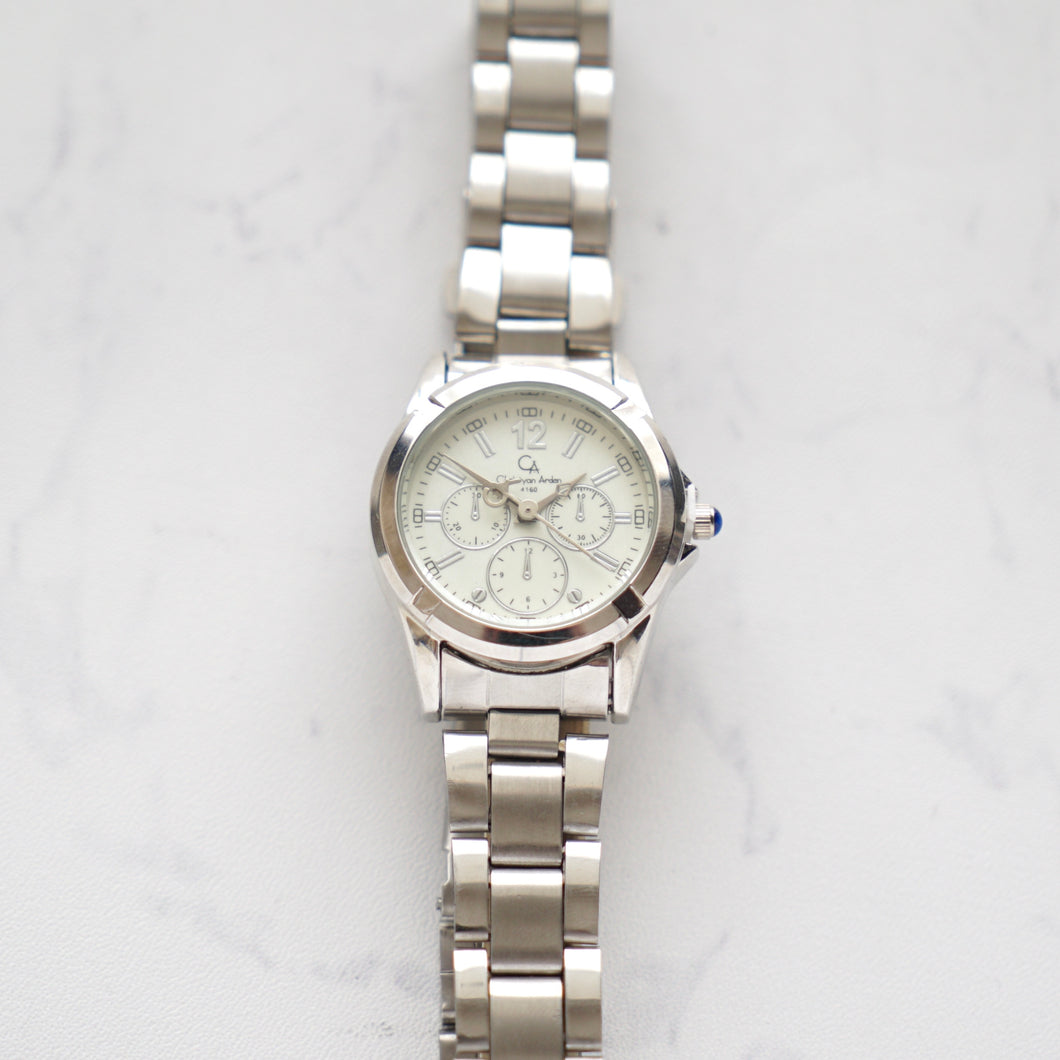 Christyan Arden Luxury Collection CA4160 White Dial (wanita)