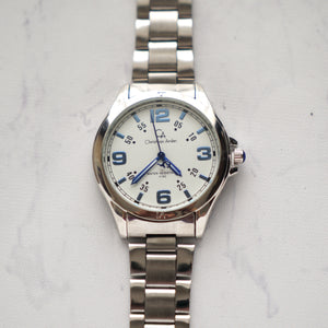 Christyan Arden Luxury Collection CA4162 White Dial (Pria)