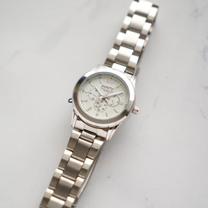 Positif Classic Watch PS4134 White Dial (Wanita)