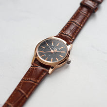 Load image into Gallery viewer, Christyan Arden Full Grain Leather CA8063 Brown - Black Dial (Wanita)