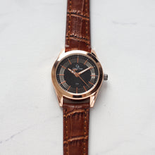 Muat gambar ke penampil Galeri, Christyan Arden Full Grain Leather CA1573 Brown - Black Dial (Wanita)