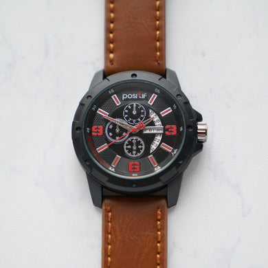 Positif Leather Water Resistant GTHF PS60033 PCM (Pria)