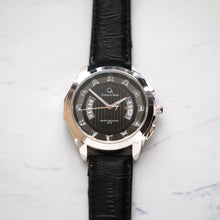 Load image into Gallery viewer, Christyan Arden Full Grain Leather CA2218 Black - Black Dial (Pria)