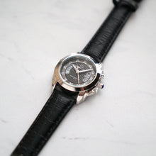 Load image into Gallery viewer, Christyan Arden Full Grain Leather CA2218 Black - Black Dial (Wanita)