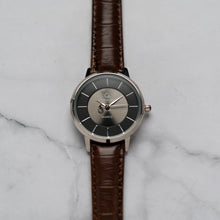 Load image into Gallery viewer, Christyan Arden ANTHEA CA-0008H - Around The World Edition - Black Dial - Brown Full Grain Strap (Wanita)