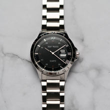 Load image into Gallery viewer, Jean Alexis ODIN GT JA104 - Prestige Edition - Silver Stainless Steel Strap - Silver Case - Black Dial (43mm)