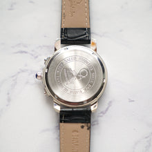 Muat gambar ke penampil Galeri, Christyan Arden Full Grain Leather CA1252 Black - White Dial (Pria)