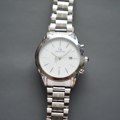 Christyan Arden Luxury Watch CA3557 White Dial (Pria)