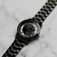 Load image into Gallery viewer, Jean Alexis RANDGUALD GHT JA106 - Prestige Edition - Black Stainless Steel Strap - Black Case - Black Dial (43mm)