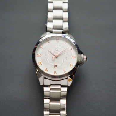 Christyan Arden Luxury Collection CA-002 White Dial (Pria)