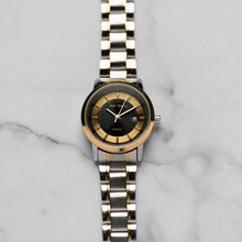 Load image into Gallery viewer, Jean Alexis RANGUALD LKT JA106 - Prestige Edition - Gold & Silver Stainless Steel Strap - Gold Case - Black Dial (33mm)