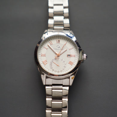 Christyan Arden Luxury Collection CA-003 White Dial (Pria)