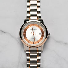 Muat gambar ke penampil Galeri, Jean Alexis RANGUALD GST JA106 - Prestige Edition - RoseGold & Silver Stainless Steel Strap - RoseGold Case - White Dial (43mm)