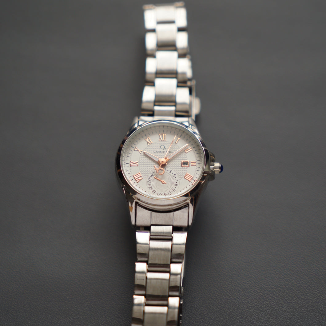 Christyan Arden Luxury Collection CA-003 White Dial (Wanita)