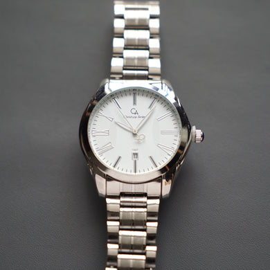 Christyan Arden Luxury Watch CA1527 White Dial (Pria)