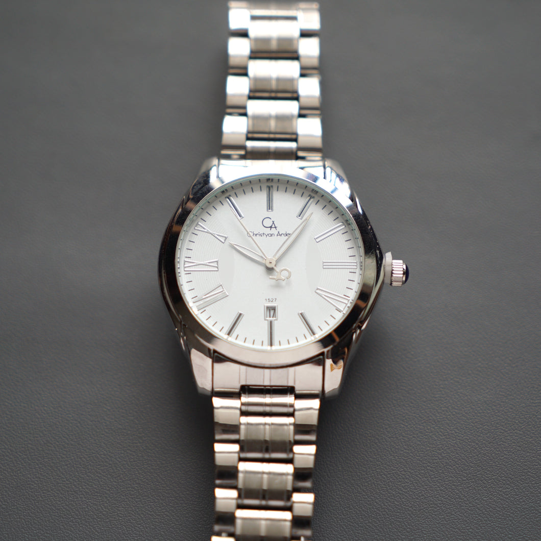 Christyan Arden Luxury Collection CA1527 White Dial (Pria)