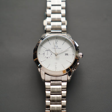 Christyan Arden Luxury Watch CA2161 White Dial (Pria)