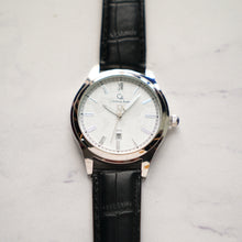 Muat gambar ke penampil Galeri, Christyan Arden Full Grain Leather CA3713 Black - White Dial (Pria)
