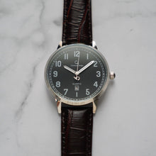 Load image into Gallery viewer, Christyan Arden BELEN CA3106 - Around The World Edition - Black Dial - Brown Strap (Pria)