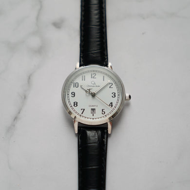 Christyan Arden BELEN CA3106 - Around The World Edition - White Dial - Black Strap (Wanita)
