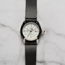 Muat gambar ke penampil Galeri, Christyan Arden Full Grain Leather CA5045 Black - White Dial (Wanita)