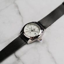 Load image into Gallery viewer, Christyan Arden Full Grain Leather CA5045 Black - White Dial (Wanita)