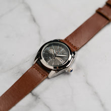 Load image into Gallery viewer, Christyan Arden Full Grain Leather CA5045 Brown - Black Dial (Wanita)