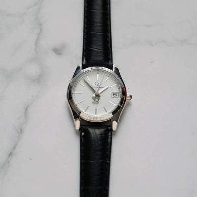 Christyan Arden GENESIS CA3104 - Around The World Edition - White Dial - Black Strap (Wanita)