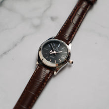 Muat gambar ke penampil Galeri, Christyan Arden GENESIS CA3104 - Around The World Edition - Black Dial - Brown Full Grain Strap (Wanita)