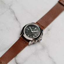 Load image into Gallery viewer, Christyan Arden Full Grain Leather CA8073 Brown - Black Dial (Wanita)