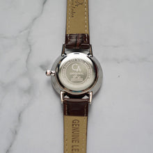 Load image into Gallery viewer, Christyan Arden VASILIOS CA3107 - Around The World Edition - White Dial - Brown Strap (Wanita)