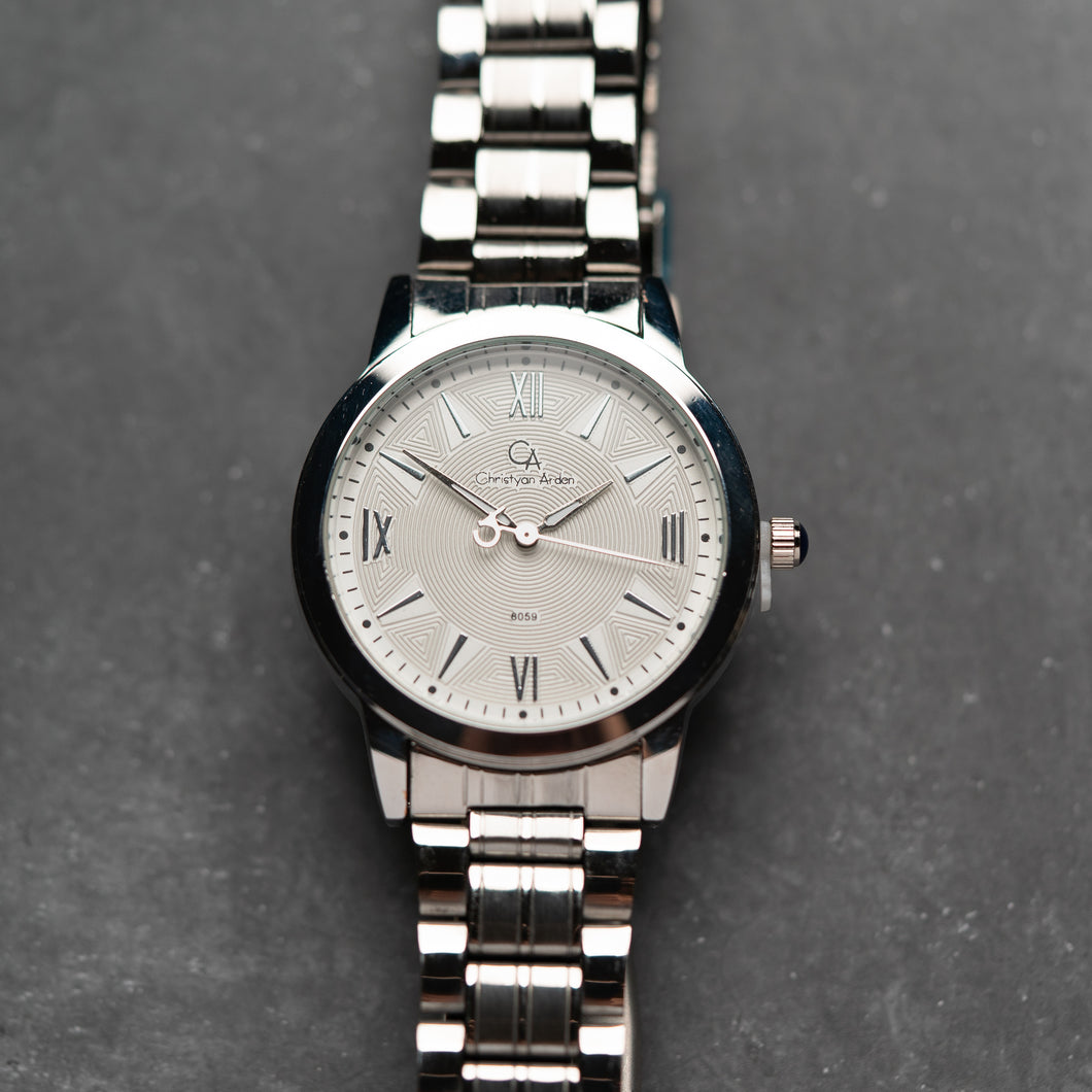 Christyan Arden CA8059 White Dial (Pria)