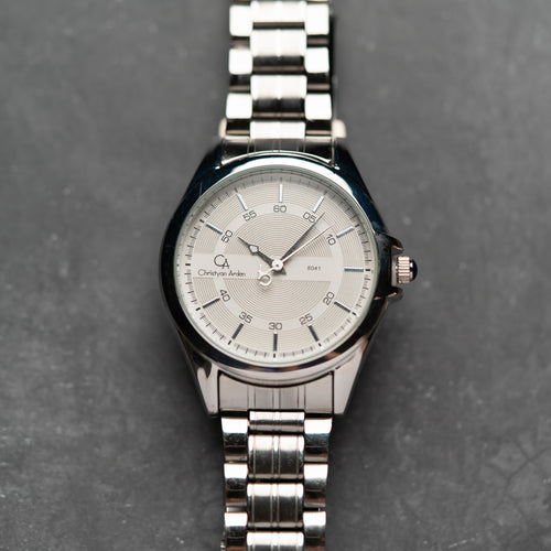 Christyan Arden CA8041 White Dial (Pria)
